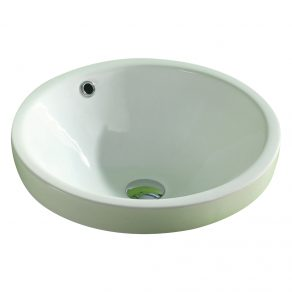 RECESSED BASIN W/OVERFLOW