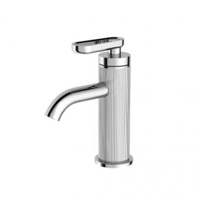 BASIN MIXER WITH LEVER