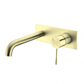 IN WALL MIXER & CURVED SPOUT