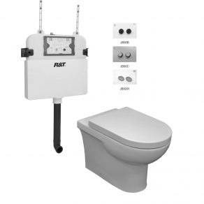 AMBULANT ECONO FLUSH & INWALL CISTERN