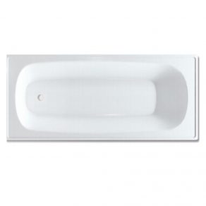 PRESSED STEEL BATH TUB 1500mm