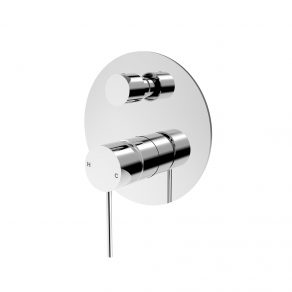 In Wall Mixer W/Diverter (Handle & Back Plate)