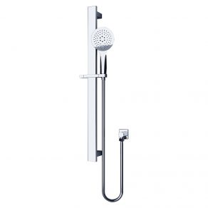 SLIDING RAIL & ROUND HAND SHOWER