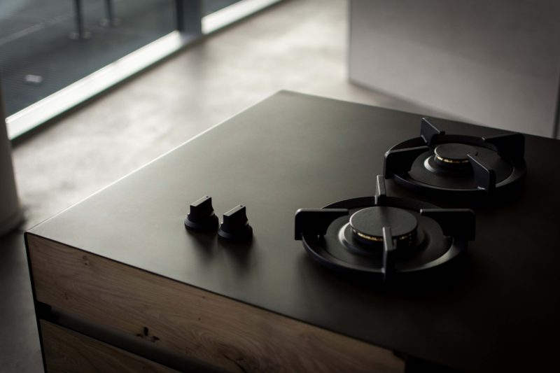 Black And Timber Counter Top — Paolo Bendandi