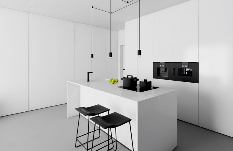 Inuti Kitchen For Minimalist Kitchens