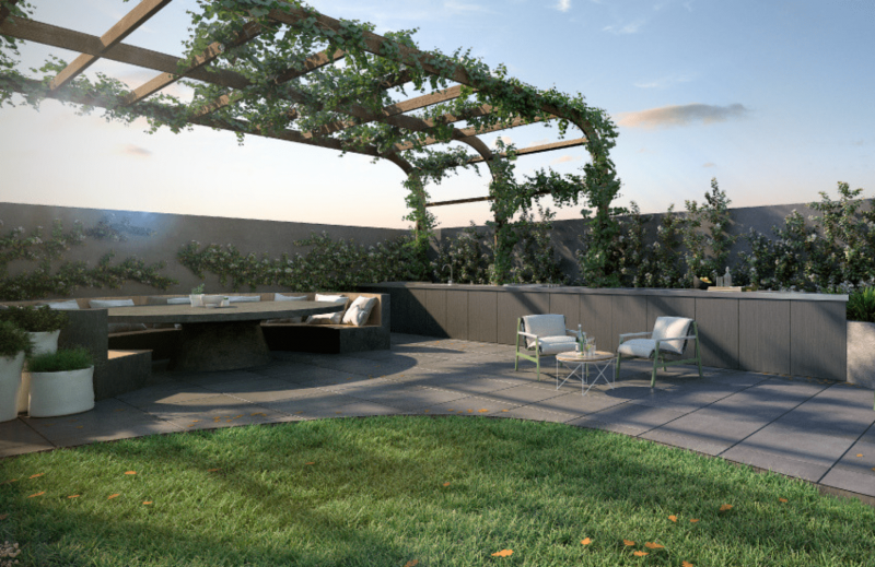Rooftop Terrace — Noba Apartments Min